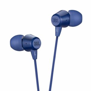 Buy JBL C50HI in-Ear Earphones with Mic (Blue) at an offer price of Rs 449 at Amazon.in-Best Earphones under Rs 500.Cheapest.Top Earphones 2020.