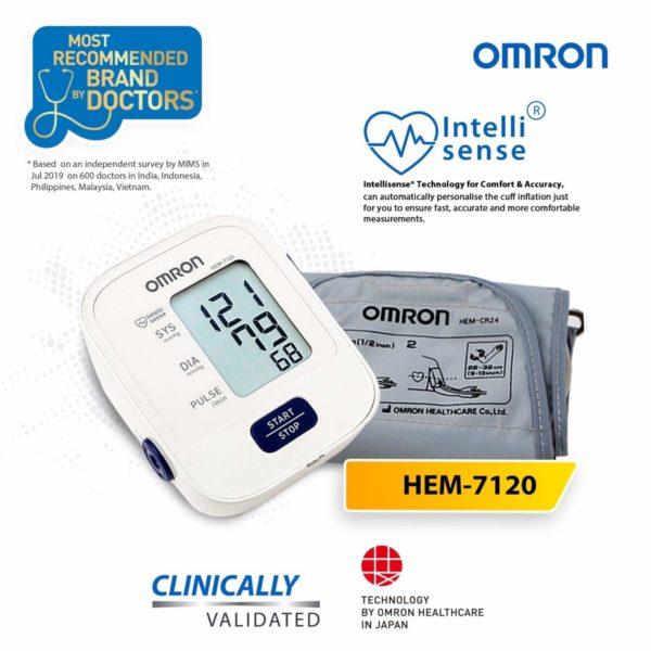 Omron HEM 7120 BP Machine